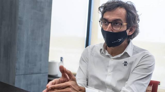Rodrigo Miranda, director general de ISDI. (Carmen Castellón)