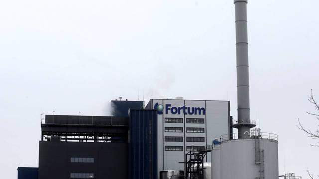 Central de biomasa en Jelgava, Letonia. Reuters